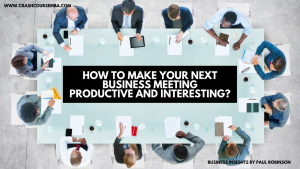 How to make your next team meeting productive and interesting?