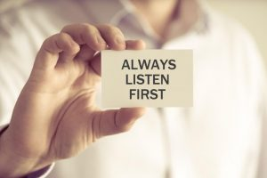 Why leaders listen to their people?