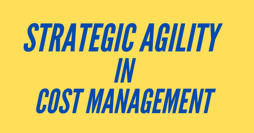 Strategic Agility in Cost Management